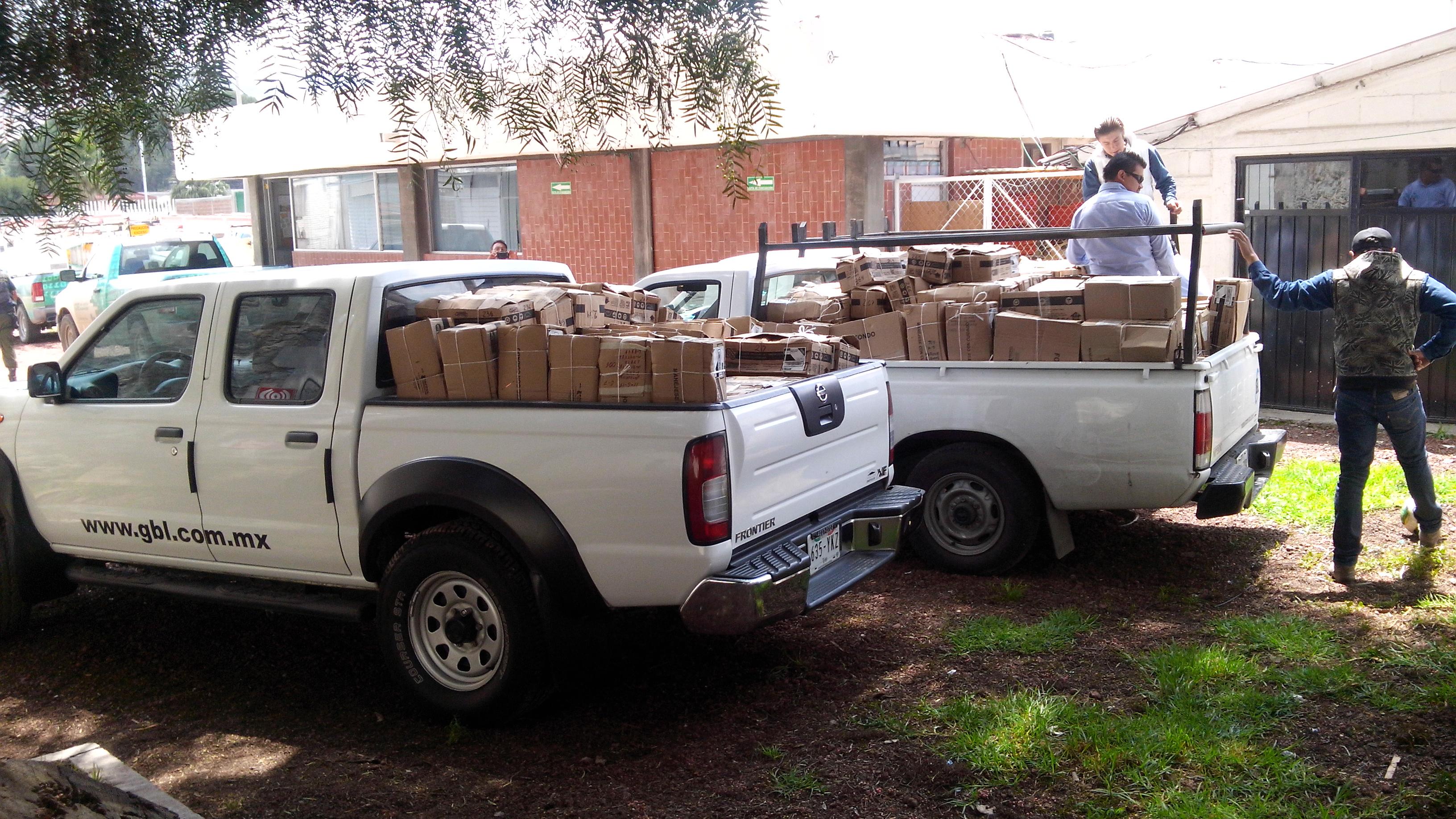 Camioneta con desmantelamientos 2