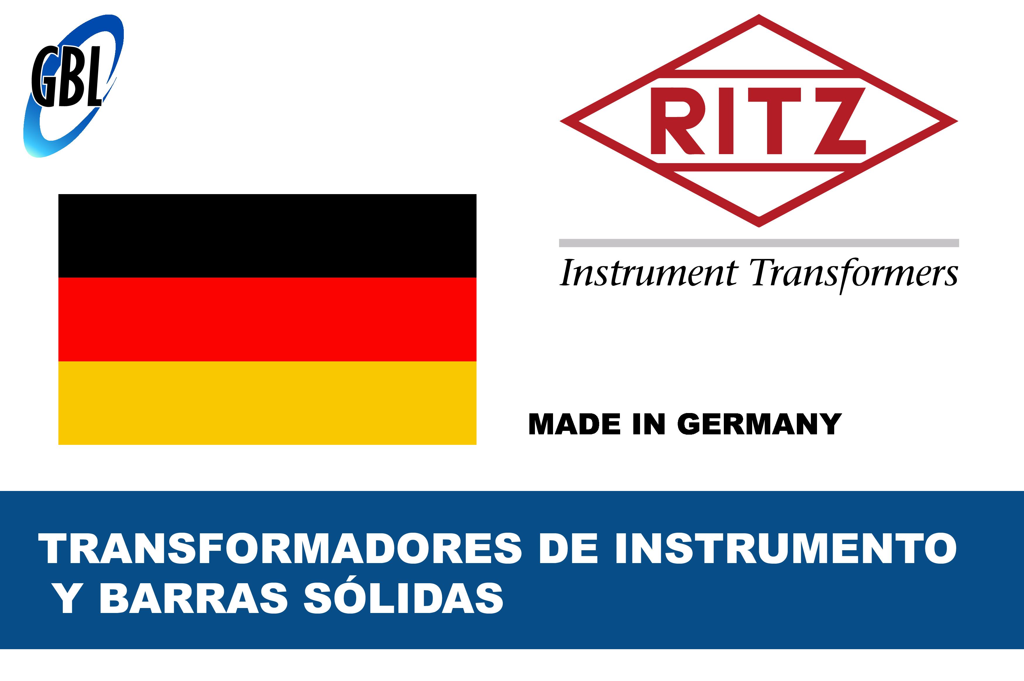PROVEEDOR DE EQUIPOS DETRANSFORMADORES DE INSTRUMENTO Y BARRA SOLIDA- RITZ-01